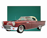 Few cars are as celebrated or iconic as the Ford Thunderbird. This is a vehicle that instantly connects people to memories of the open road. To be sure, if you wanted to go fast on such a road, this was going to be the vehicle that you wanted to do it with .<br />