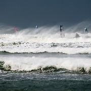 Windsurf à Diamond head , Ile de Ré: Coup de vent d'hiver