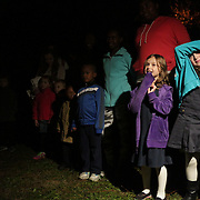 Residents wait for the Greenfield Christmas Tree lighting at Greenfield Lake Park Thursday December 4, 2014 in Wilmington, N.C. (Jason A. Frizzelle)