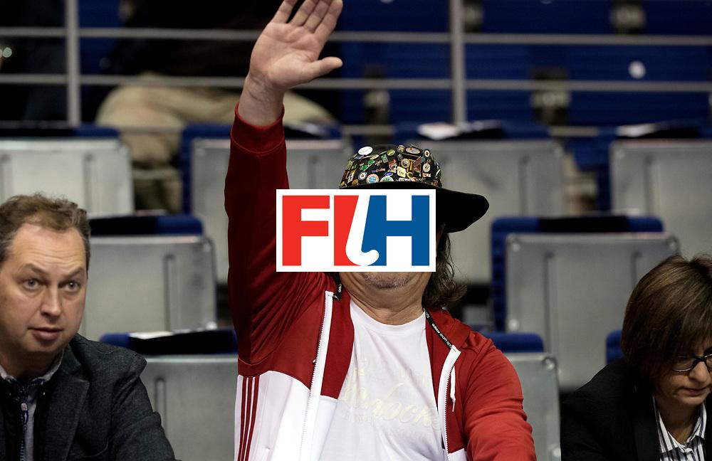 BERLIN - Indoor Hockey World Cup<br /> Men: Iran - Russia<br /> foto: Fan.<br /> WORLDSPORTPICS COPYRIGHT FRANK UIJLENBROEK