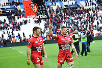 Joie Sebastien Tillous Bordes - 19.04.2015 - Toulon / Leinster - 1/2Finale European Champions Cup -Marseille<br />