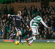 Dundee&rsquo;s Craig Wighton runs at Celtic's Dedryck Boyata - Celtic v Dundee - Ladbrokes Scottish Premiership at Dens Park<br /> <br />  - &copy; David Young - www.davidyoungphoto.co.uk - email: davidyoungphoto@gmail.com