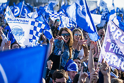 Brighton & Hove Albion celebrate at the Promotion Parade - Mandatory by-line: Jason Brown/JMP - 14/05/17 - FOOTBALL - Brighton and Hove Albion, Sky Bet Championship 2017 - Brighton and Hove Albion Promotion Parade