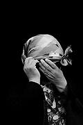 Maria Teresa Panchillo Nekulwual, Poeta y activista política de origen mapuche, que ha utilizado la poesía como instrumento político en la reterritorialización de las tierras mapuche. Su poesía se centra en la esfera política, social y cultural de su entorno, junto a las problemáticas propias de la comunidad mapuche. Comunidad Küyumko, Chol Chol, Región de La Araucanía, Chile. 28-04-2018 (©Alvaro de la Fuente/Dialogo)