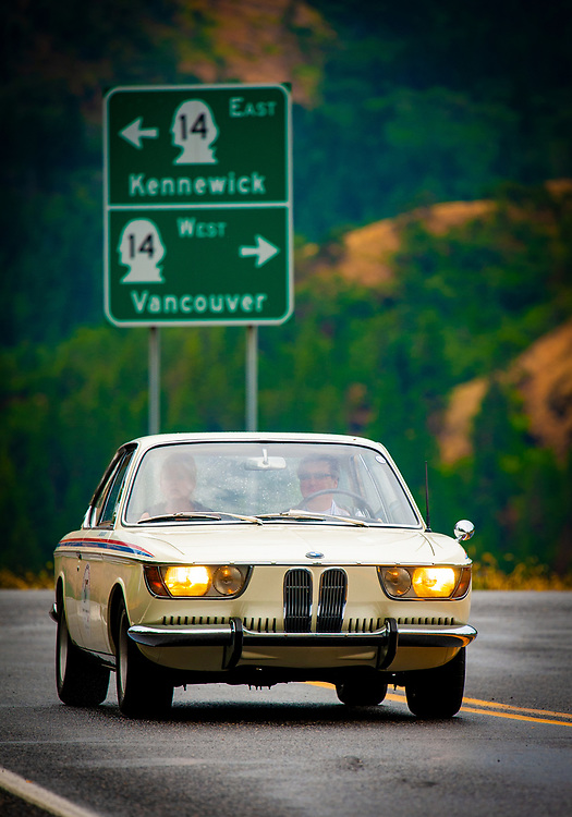 Vintage sports cars tour the Pacific Northwest during the SCM 1000. To purchase prints of this photograph, click on the shopping cart below.