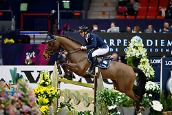 Muff Werner, SUI, Cosby<br /> Gothenburg Horse Show FEI World Cups 2017<br /> © Hippo Foto - Stefan Lafrentz<br /> 24/02/17