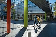 Saint Nazaire, 26/10/2014: centro commerciale - shopping centerl