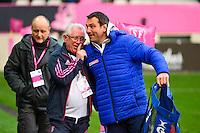 Jean Marie CHAUVET / Fabrice LANDREAU - 14.03.2015 - Stade Francais / Grenoble -  20eme journee de Top 14<br /> Photo : David Winter  / Icon Sport<br /> <br />   *** Local Caption ***