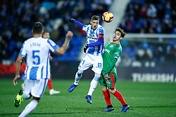 November 23, 2018 - Leganes, MADRID, SPAIN - Ruben Perez of Leganes during the Spanish Championship La Liga football match between CD Leganes and Deportivo Alaves on November 23th, 2018 at Estadio de Butarque in Leganes, Madrid, Spain. (Credit Image: © AFP7 via ZUMA Wire)