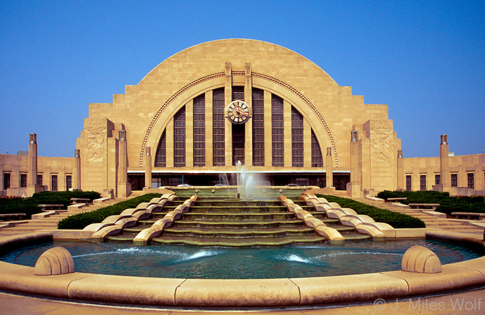 Union Terminal in Downtown Cincinnati Ohio