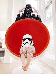 """Coco Rocha releases a photo on Twitter with the following caption: """"""""In case you hadn't seen the 212,482,392 tweets so far - it's #StarWarsDay! #MayThe4thBeWithYou"""""""". Photo Credit: Twitter *** No USA Distribution *** For Editorial Use Only *** Not to be Published in Books or Photo Books ***  Please note: Fees charged by the agency are for the agency's services only, and do not, nor are they intended to, convey to the user any ownership of Copyright or License in the material. The agency does not claim any ownership including but not limited to Copyright or License in the attached material. By publishing this material you expressly agree to indemnify and to hold the agency and its directors, shareholders and employees harmless from any loss, claims, damages, demands, expenses (including legal fees), or any causes of action or allegation against the agency arising out of or connected in any way with publication of the material."""