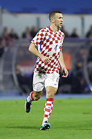 ZAGREB, CROATIA - NOVEMBER 09: Ivan Perisic of Croatia runs during the FIFA 2018 World Cup Qualifier play-off first leg match between Croatia and Greece at Maksimir Stadium on November 9, 2017 in Zagreb, Croatia. (Luka Stanzl/PIXSELL)