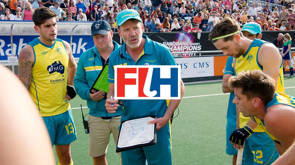 BREDA - Rabobank Hockey Champions Trophy<br /> Australia - Belgium <br /> Photo: Colin Batch.<br /> COPYRIGHT WORLDSPORTPICS FRANK UIJLENBROEK