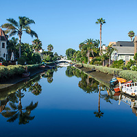 Live from the historic Venice Canals on Thursday, August 17, 2017. The man-made canals were built in 1905 by developer Abbot Kinney as part of his Venice of America plan. Kinney sought to recreate the appearance and feel of Venice, Italy, in Southern California.