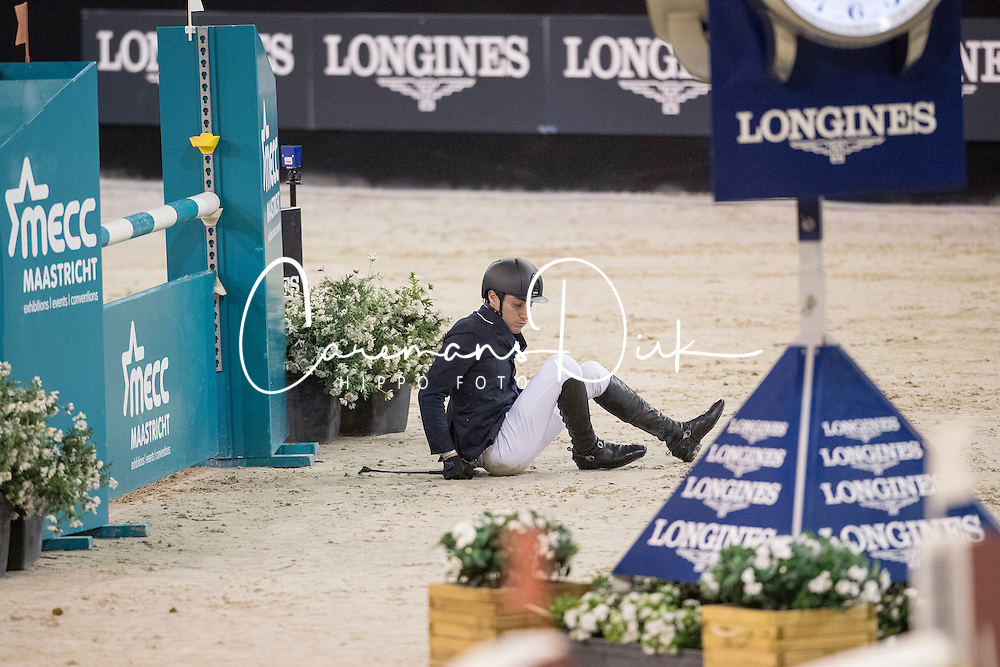 Christofoletti Michael, ITA, Ciao 2<br /> Jumping Indoor Maastricht 2016<br /> &copy; Hippo Foto - Dirk Caremans<br /> 13/11/2016
