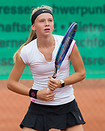 AGATA CERNA (CZE), Tennis Europe-Bavarian Junior Open, GS16<br /> <br /> Tennis - Bavarian Junior Open 2017 - Tennis Europe Junior Tour -  SC Eching - Eching - Bayern - Germany  - 12 August 2017. <br /> &copy; Juergen Hasenkopf