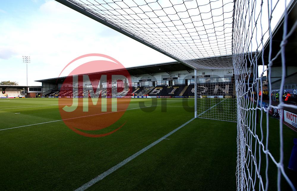 A general view of The Pirelli Stadium, home of Burton Albion - Mandatory by-line: Robbie Stephenson/JMP - 18/08/2017 - FOOTBALL - Pirelli Stadium - Burton upon Trent, England - Burton Albion v Birmingham City - Sky Bet Championship