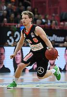 Basketball  1. Bundesliga  2016/2017  Hauptrunde  12. Spieltag  04.12.2016 Walter Tigers Tuebingen - ratiopharm Ulm Per Guenther (Ulm) am Ball