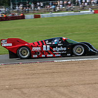 #1 Porsche 962 C, 3l (1987), chassis 0111, here photographed at the Silverstone Classic 26 July 2008