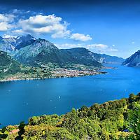 Como Lake direction Lecco - Italy in HDR..Marco Secchi.e-mail ms@msecchi.com .www.marcosecchi.com