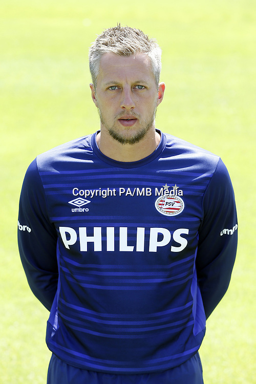 Remko Pasveer during the team presentation of PSV Eindhoven on July 6, 2015 at the Herdgang in Eindhoven, The Netherlands.