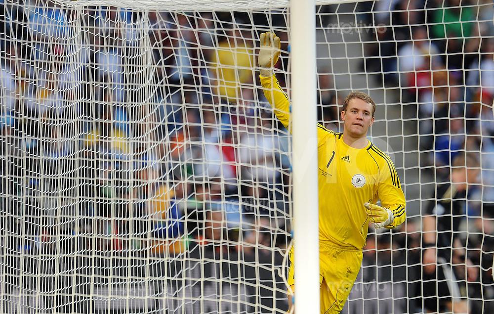 FUSSBALL WM 2010    VIERTELFINALE  02.07.2010 ARGENTINIEN - DEUTSCHLAND Manuel NEUER (Deutschland)