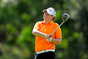 Lisa Ferrero during the first round of the Symetra Tour Championship at LPGA International on Sept. 26, 2013 in Daytona Beach, Florida. <br /> <br /> <br /> ©2013 Scott A. Miller
