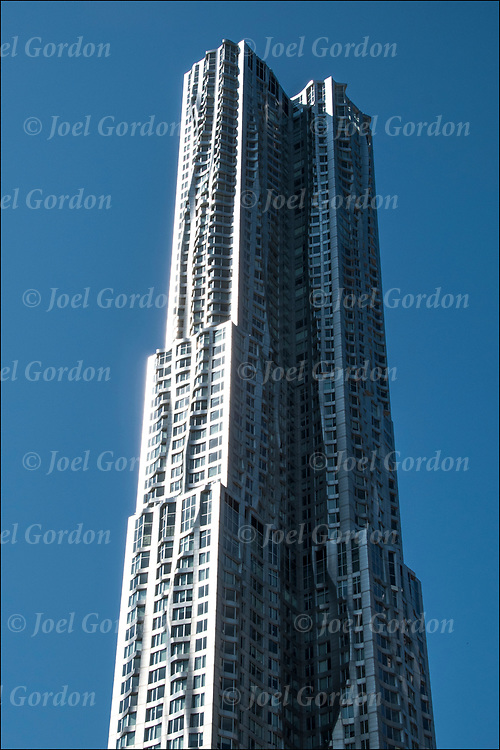 New York by Gehry, is a 76-story skyscraper designed by architect Frank Gehry in the New York City.<br />