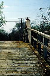 Camel back bridge under renovation