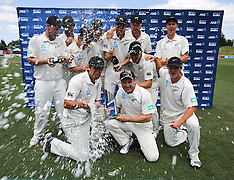 Hamilton-Cricket, New Zealand v West Indies, 3rd test, day 4