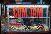 Street food stall in Vietnam