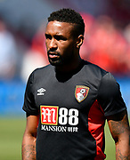 Jermain Defoe (18) of AFC Bournemouth warming up before the Premier League match between Bournemouth and Swansea City at the Vitality Stadium, Bournemouth, England on 5 May 2018. Picture by Graham Hunt.