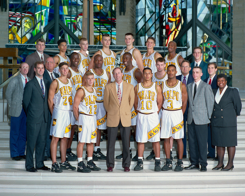 1995-96 Men's Basketball<br /> Mid-Continent Conference<br /> Regular Season &amp; Tournament Champion