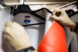 Production of Ski Jumping suits at Dali sport d.o.o., on December 6, 2016 in Lesce, Slovenia. Photo by Vid Ponikvar / Sportida