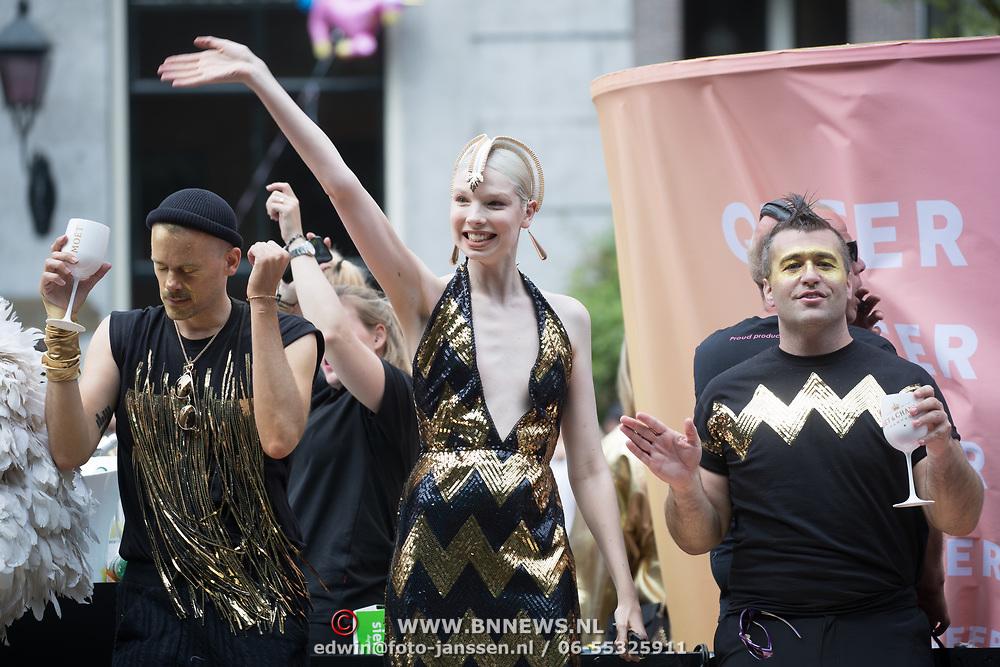 NLD/Amsterdam//20170805 - Gay Pride 2017, Valentijn Hingst