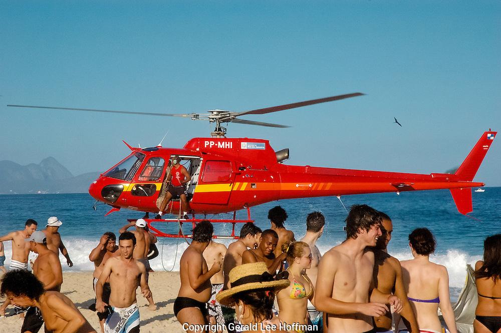 Rescue Copacabana Beach