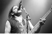 Motorhead lead singer Lemmy, UK, 1980s.