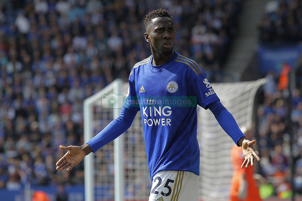 May 12, 2019 - Leicester, England, United Kingdom - Leicester City midfielder Wilfred Ndidi during the Premier League match between Leicester City and Chelsea at the King Power Stadium, Leicester on Sunday 12th May 2019. (Credit Image: © Mi News/NurPhoto via ZUMA Press)