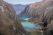 Llanganuco Valley and Lakes, Cordillera Blanca, Andes Mountains, Peru, South America