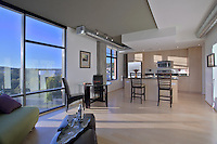 Washington DC apartment interior photo by Jeffrey Sauers of Commercial Photographics