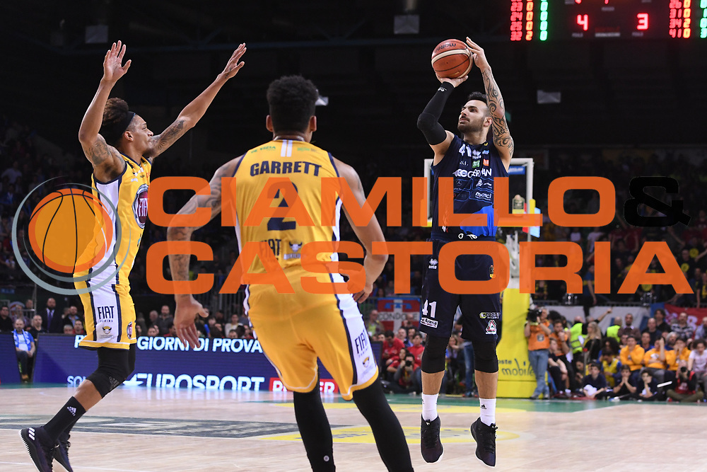 Sacchetti Brian<br /> Fiat Auxillium Torino - Germani Basket Brescia<br /> Postemobile Final 8 2018<br /> Firenze, 18/02/2018<br /> Foto Ciamillo-Castoria