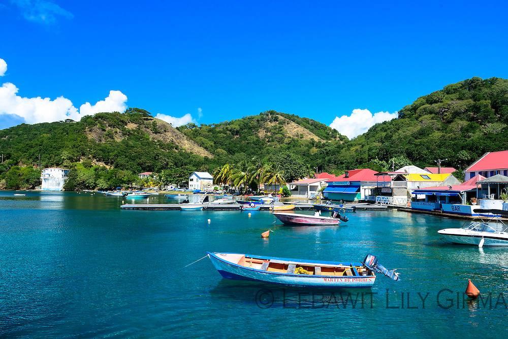 View of Les Saintes' UNESCO-listed Bay