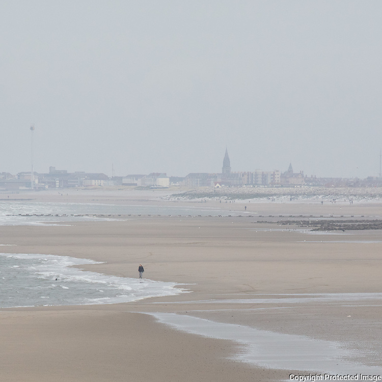 Rhyl from Kinmel bay, Conwy.