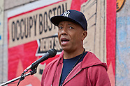 Occupy Boston Russell Simmons - 11.15.11