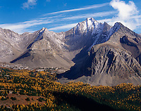 Storm Mountain in the Opal Range, Kananaskis Country Alberta Canada
