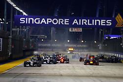 September 18, 2016 - Singapur, Singapur - Motorsports: FIA Formula One World Championship 2016, Grand Prix of Singapore, .Start#6 Nico Rosberg (GER, Mercedes AMG Petronas Formula One Team) (Credit Image: © Hoch Zwei via ZUMA Wire)