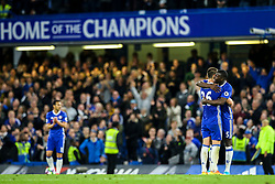 Chelsea celebrate at the end of the match, final score Chelsea 4-3 Watford - Mandatory by-line: Jason Brown/JMP - 15/05/2017 - FOOTBALL - Stamford Bridge - London, England - Chelsea v Watford - Premier League