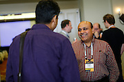 The Linux Foundation hosts their Collaboration Summit at the Hyatt Vineyard Creek Hotel and Spa in Santa Rosa, California, on February 19, 2015. (Stan Olszewski/SOSKIphoto)