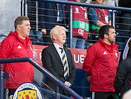 4th September 2017, Hampden Park, Glasgow, Scotland; World Cup Qualification, Group F; Scotland versus Malta; Scotland manager Gordon Strachan
