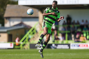 Forest Green Rovers Ethan Pinnock(16) during the Vanarama National League Play Off second leg match between Forest Green Rovers and Dagenham and Redbridge at the New Lawn, Forest Green, United Kingdom on 7 May 2017. Photo by Shane Healey.